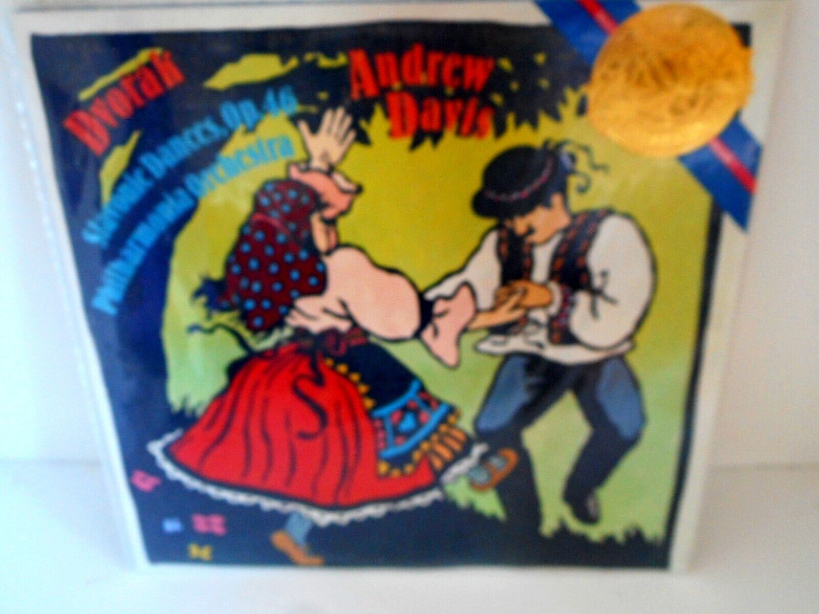 Philharmonia Orchestra / Andrew Davis - Dvorak Slavonic Dances Op. 46 Vinyl LP