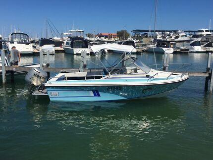 BARON SPORTSMAN EXCELLENT DECK SPACE, RIDE AND QUALITY BUILD