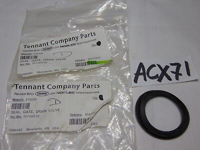 Tennant Carpet Extractor Replacement Part Seal For Gate Drain Valve 707-003-02