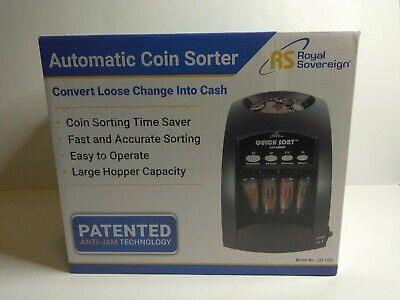 Royal Sovereign Co-1000 - Coin Counter Sorter Grey
