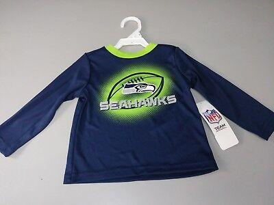 NFL Seattle Seahawks, Gerber Childrenswear Boys Long sleeve Tee 2T, Seahawks NWT