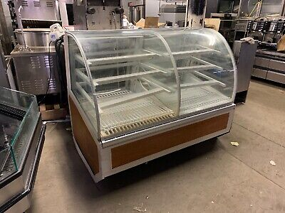 48 Curved Glass Refrigerated Display Bakery Case