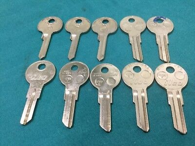 Gm 1098x 1125g Key Blanks By Ilco Set Of 10 - Locksmith