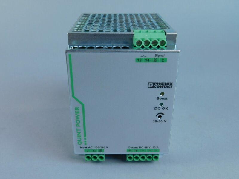 Phoenix Contact QUINT-PS/1AC/48DC/10 Power Supply, 48V, 2866682