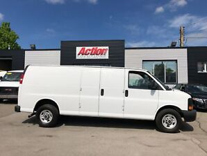 2014 Gmc Savana 2500 extended cargo. shelving available. fin or lease!