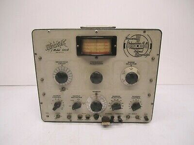 Vtg Hickok Usa Model 310a Universal Television Tv Fm Alignment Signal Generator