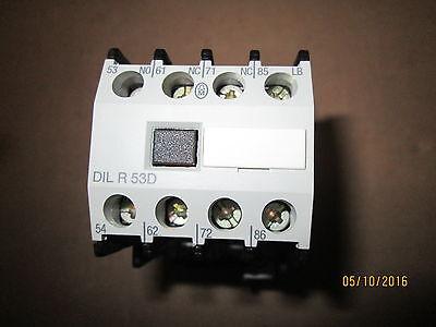 New Moeller Dilr53d Contactor Relay 120vac Coil.