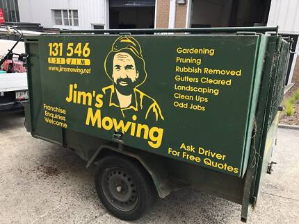 Jims Mowing (Kew) franchise for sale