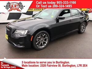 2016 Chrysler 300 s. Automatic, Navigation, Leather, AWD