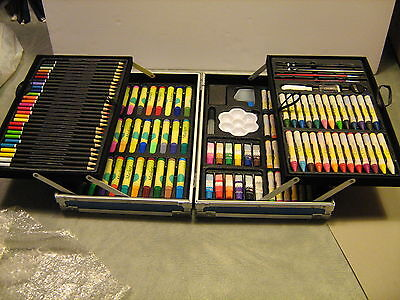 Art Sets For Kids (Art Set for Kids, 132 pc., w/paints, markers, colored pencils, crayons,)
