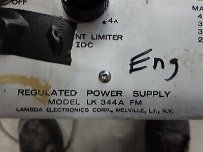 Lambda Lk 344a 350w 15a Regulated Power Supply Working