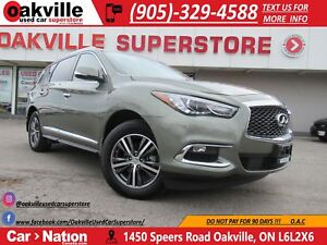 2017 Infiniti QX60 PREM AWD | LEATHER | NAVI | 360 CAMERA | SUNR