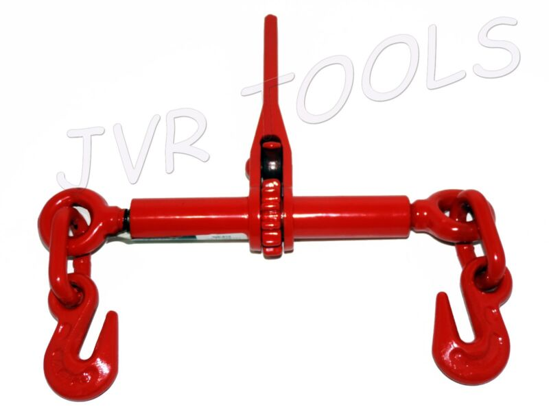 """New 2200 lb. 1/4"""" or 5/16"""" Ratchet Load Binder Chain Equipment Tie Down Rigging"""