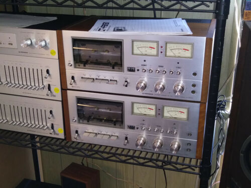 Vintage Pioneer CT-F9191 Stereo Cassette Deck 1 available with manual Near Mint