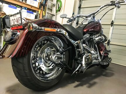 Harley Fatboy custom  2015