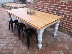 THE GREEN LOFT - RUSTIC FARMHOUSE DINING TABLE Leederville Vincent Area Preview