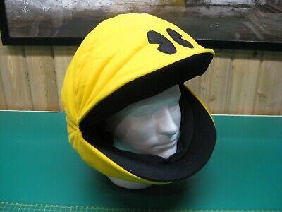 PAC-MAN Plush Hat Full Head Stuffed Costume Arcade Namco - Adult size - RARE