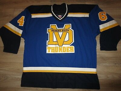 Desert Vista Thunder #46 DVHS Hockey CCM Jersey XL  for sale  Tempe