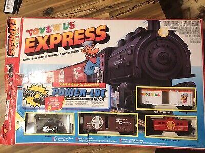 Vintage Toys R Us Express Electric Train Set