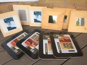Modern picture frames and mirros