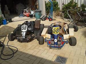Two dirt go kart Joondalup Joondalup Area Preview