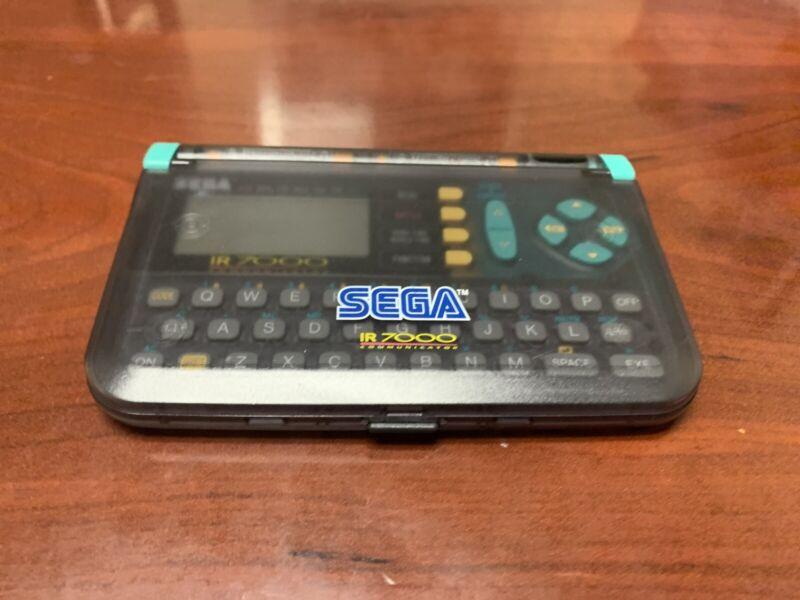 Vintage Sega IR-7000 Communicator PDA (1994) w/ New Battery- Tested & Working!