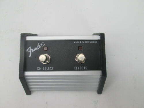 FENDER 0057664000 2 BUTTON CH SELECT EFFECTS FOOTSWITCH