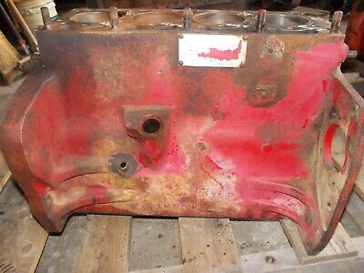 Massey To35 To-35 Tractor Engine Motor Cylinder Block
