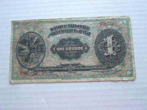 (1) 1919 REPUBLIQUE D