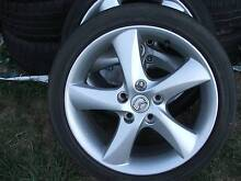 GENUINE 17'' MAZDA ALLOY WHEELS AND TYRES Canberra Region Preview