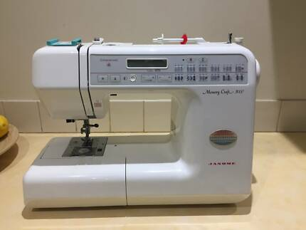 Janome sewing machine in south australia sewing machines janome memory craft 3000 computerised sewing machine fandeluxe Choice Image