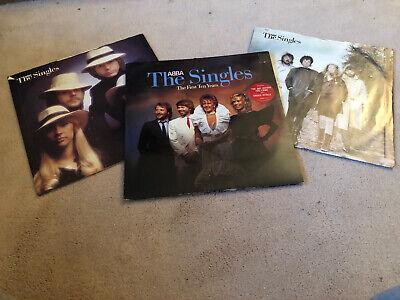 "ABBA - THE SINGLES - THE FIRST TEN YEARS - 12"" Vinyl LP ABBA 10"