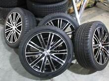Set of 4 CSA Wheels and Tyres suit VE and VF Commodores, as new Tweed Heads 2485 Tweed Heads Area Preview