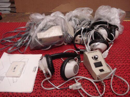 Ideanetics Model 102 Communication System Headsets Safety Simulator Training