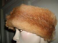 Cappello Fascia Headband Hat Pelliccia Fur Pelz Coyote Volpe Fox Fuchs Rossa - fuchs - ebay.it