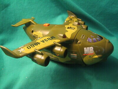 "2005 Matchbox/Mattel MB3A Military Transport Airplane-6 1/2 "" Long"