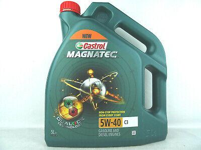 Castrol Magnatec 5W40 C3 BMW LL04 MB 2291.31 Benzin Diesel RN0700 5W-40 5Liter