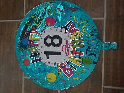 Happy 18th Birthday Celebration Ballon Foil Confetti Medium](18th Birthday Confetti)