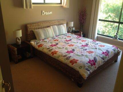 Far Pavillions Queen Bed and Matching Side Tables Pacific Pines Gold Coast City Preview