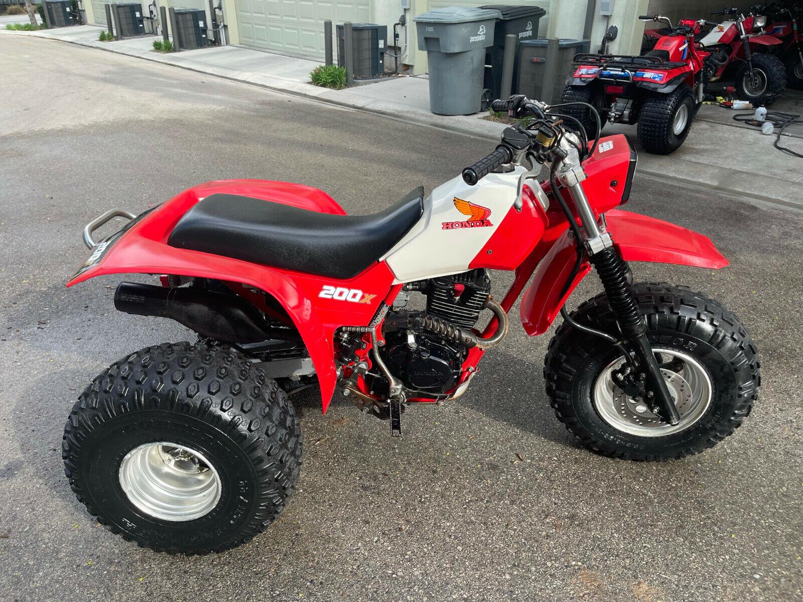 RARE 1984 Honda ATC200X ATV Classic