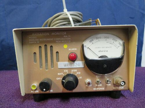 Eberline RM-15 Radiation Monitor Detector-Used