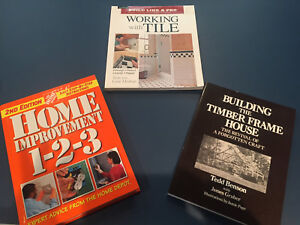 Assorted Home Improvement/building books