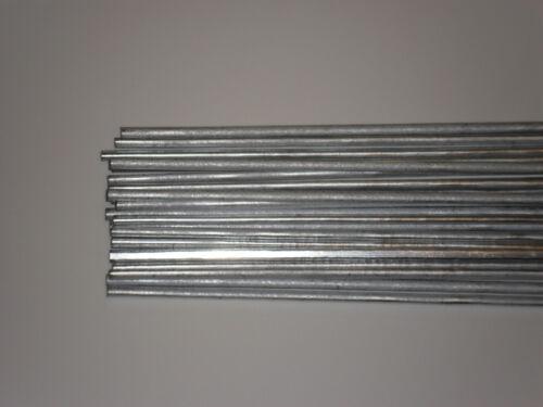 "1/8 x 18"" Washington Alloy Aluminum Brazing Alu-Zinc - 21 rods (1 lb)"