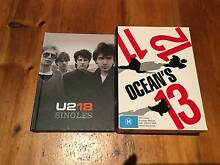 Boxed Sets Collectors Edition: U2 and Ocean's DVDs Watermans Bay Stirling Area Preview