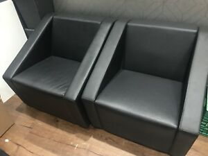 Nice Black contemporary lounge chairs for sell !