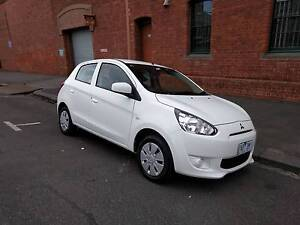 2013 Mitsubishi Mirage Hatchback, LOGBOOK + REG + RWC + WARRANTY North Melbourne Melbourne City Preview