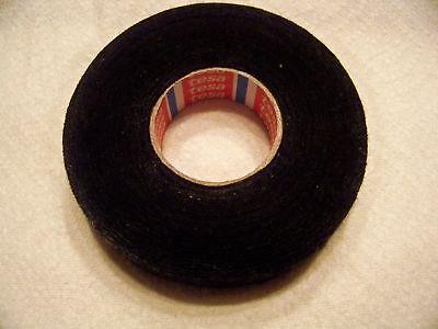 5 Rolls Tesa Black Fuzzy Fleece Interior Wire Loom Harness Tape For Vw Audi