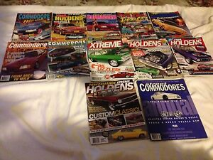 12x Assorted Holden Magazines Box Hill North Whitehorse Area Preview