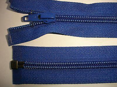 RV 381 Reißverschluß ykk blau 40cm, teilbar 1 Stück