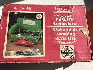 Coleman campstove Camping